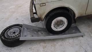 Краш-тэст композитного металлопластикового сэнд-трака весом 4,6 кг