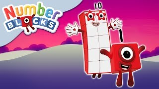 Numberblocks - Working Together   Learn to Count