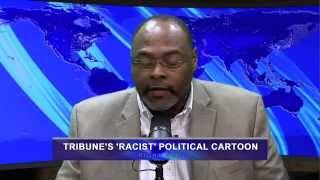 Views of the News: Editorial cartoon about Ferguson seen as racist