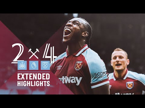EXTENDED HIGHLIGHTS |  NEWCASTLE UNITED 2-4 WEST HAM UNITED