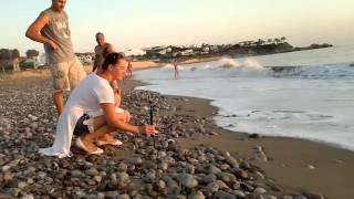 The meditative sound of the surf, the waves on the beach | Медитативный звук прибоя, волны на пляже