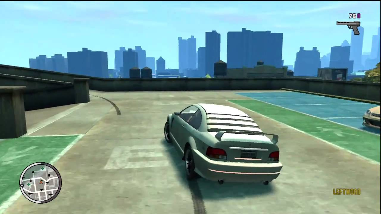 hd gta iv tbogt hidden car sentinel xs episode 1 on xbox 360 youtube - Gta 4 Secret Cars Locations Xbox 360