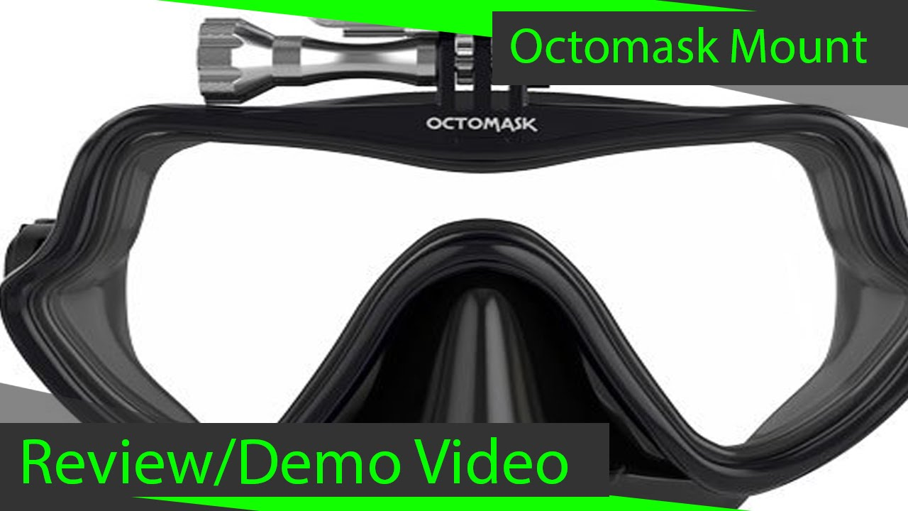 6ba1517261a6 Octomask Frameless Gopro Mount Review - YouTube
