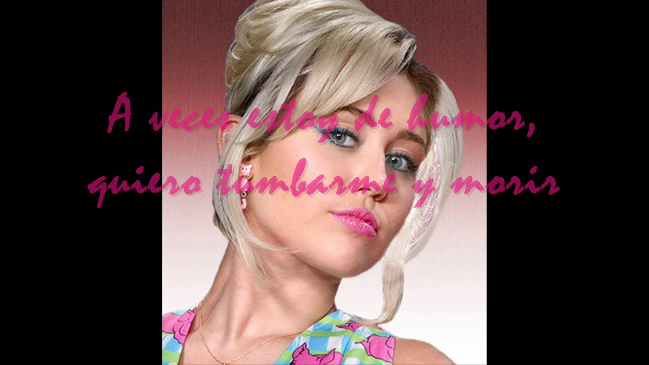 miley cyrus baby i u0027m in the mood for you subtitulado en