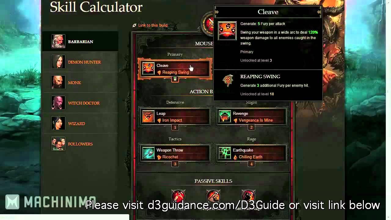 diablo 3 barbarian leveling guide youtube