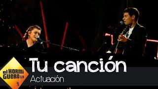 Alfred y Amaia conquistan al público interpretando 'Tu canción' - El Hormiguero 3.0