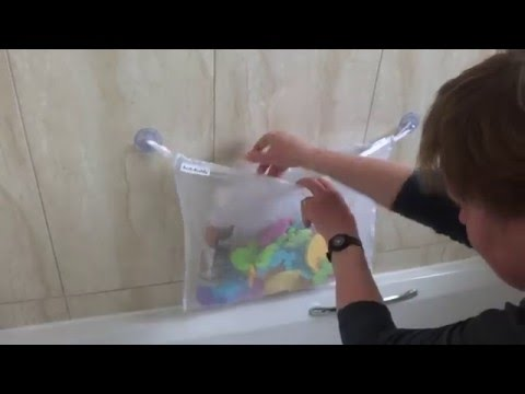 Bath Toy Organizer -Bath Net - Bath-Buddy