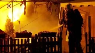 Chalet op Eurocamping Vessem volledig afgebrand
