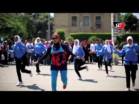 «لعب وجد ورقص».. احتفالات جامعة القاهرة بالعام الدراسي الجديد