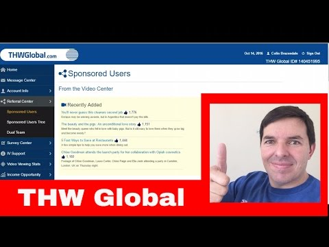 THW Global How to recruit new members and referrals using Gumtree to build your THW business