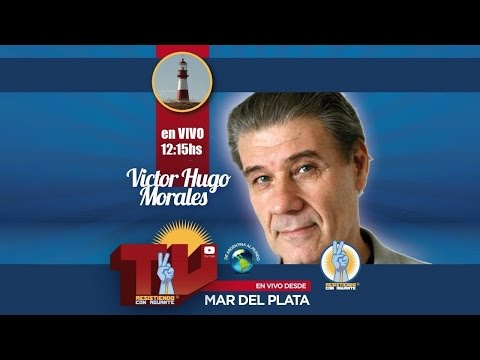 EN VIVO: Victor Hugo Morales en radio Fm del Sol Mar del Plata - Resistiendo con Aguante Tv