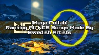 Ranking All Songs Made By Swedish Artists On NCS [Mega Collab]