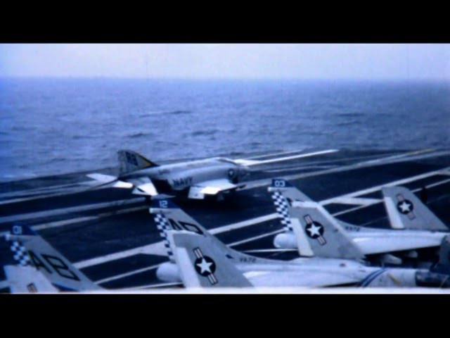 USS John F. Kennedy CVA67 Flight Deck Operations