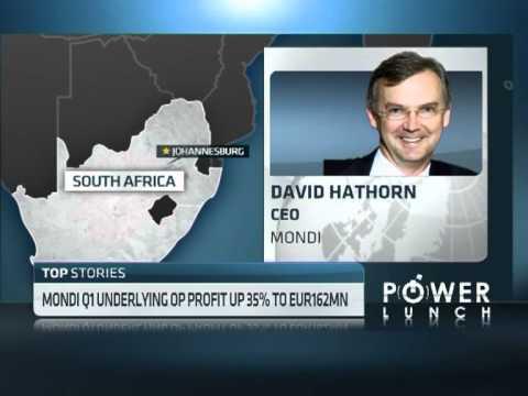Mondi Q1 Underlying Profit up 35%