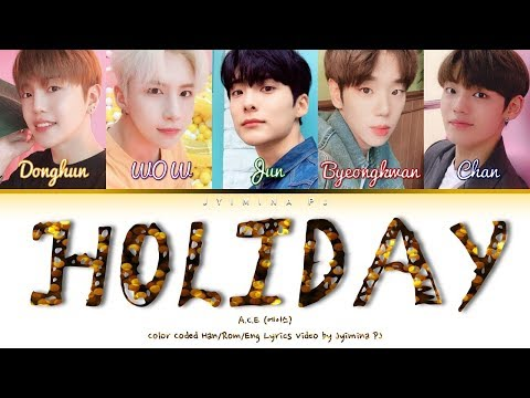 Download A.C.E 에이스 - 'Holiday' s Color Coded_Han_Rom_Eng Mp4 baru