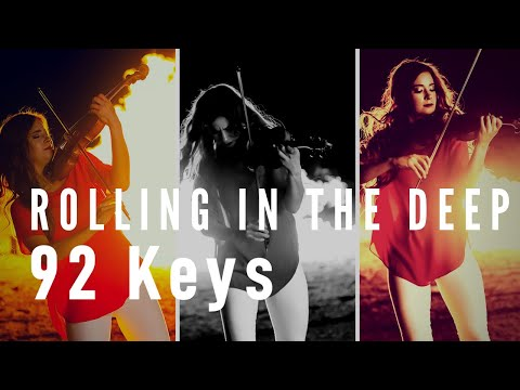 92 Keys - Rolling In The Deep (Adele) - Ft. Chloé Trevor - Violin/Piano