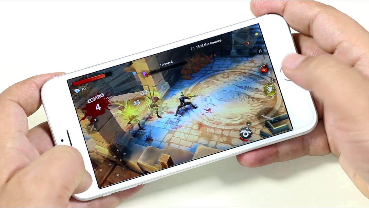 Top 10 FREE HD iOS Games 2015   YouTube