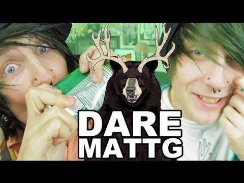 Dare MattG - 48 (Random Compliments, Douche Canoe Shotgun challenge, Finger Nails) - Dare MattG - 48 (Random Compliments, Douche Canoe Shotgun challenge, Finger Nails)