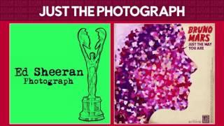 Photograph vs Just The Way You Are (Ed Sheeran & Bruno Mars) MASHUP