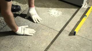 Italon X2 - укладка плиток на гравий - tile installation on gravel(, 2016-04-05T09:46:24.000Z)