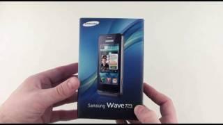 samsung Wave 723 - видео обзор wave 723 ( wave 7230 ) от Video-shoper.ru