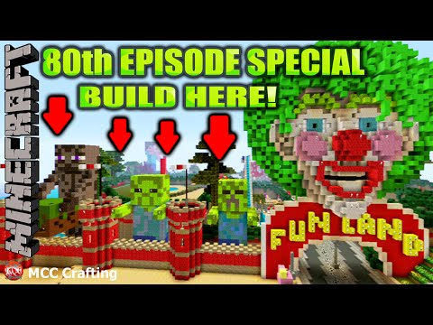 MINECRAFT 80th Ep Special NEW District Fun Land Lot Giveaway EPIC LBS City PS3/PS4/XBOX/CONSOLE