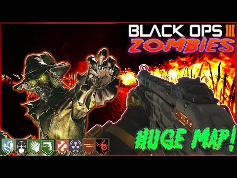 POPULATION 0 - HUGE CUSTOM ZOMBIES MAP! Call of Duty Black Ops 3 ''Easter Egg''