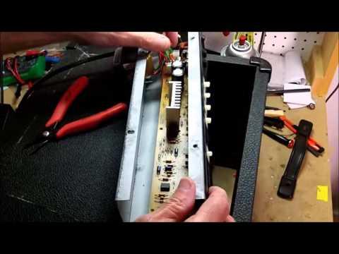 Crate BX 15 Solid State amp repair