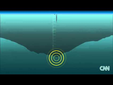 How deep is deep Imagining the MH370 search underwater