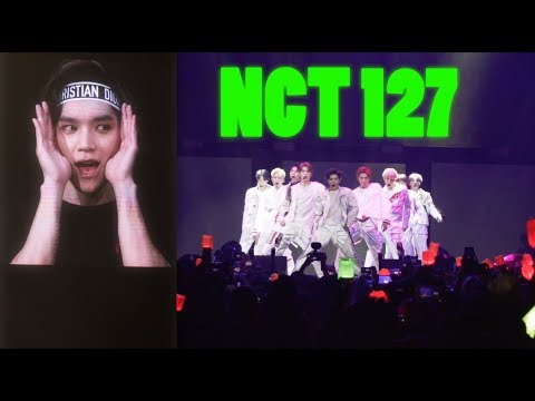 NCT 127 IN MIAMI NCT 127 WORLD TOUR NEO CITY - The Origin VLOG  FANCAM