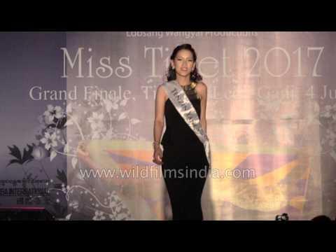 Miss Tibet 2017:  Evening Gown, Final Round