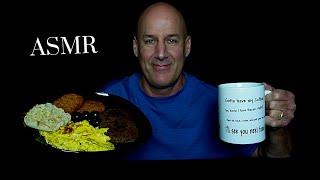 ASMR: DELICIOUS HOMEMADE BREAKFAST (EATING SOUNDS) SOFT SPOKEN