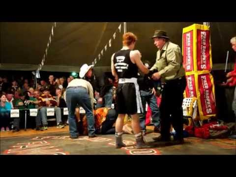 Matt Grant - 2nd round tko - Outback Fight Club - Birdsville