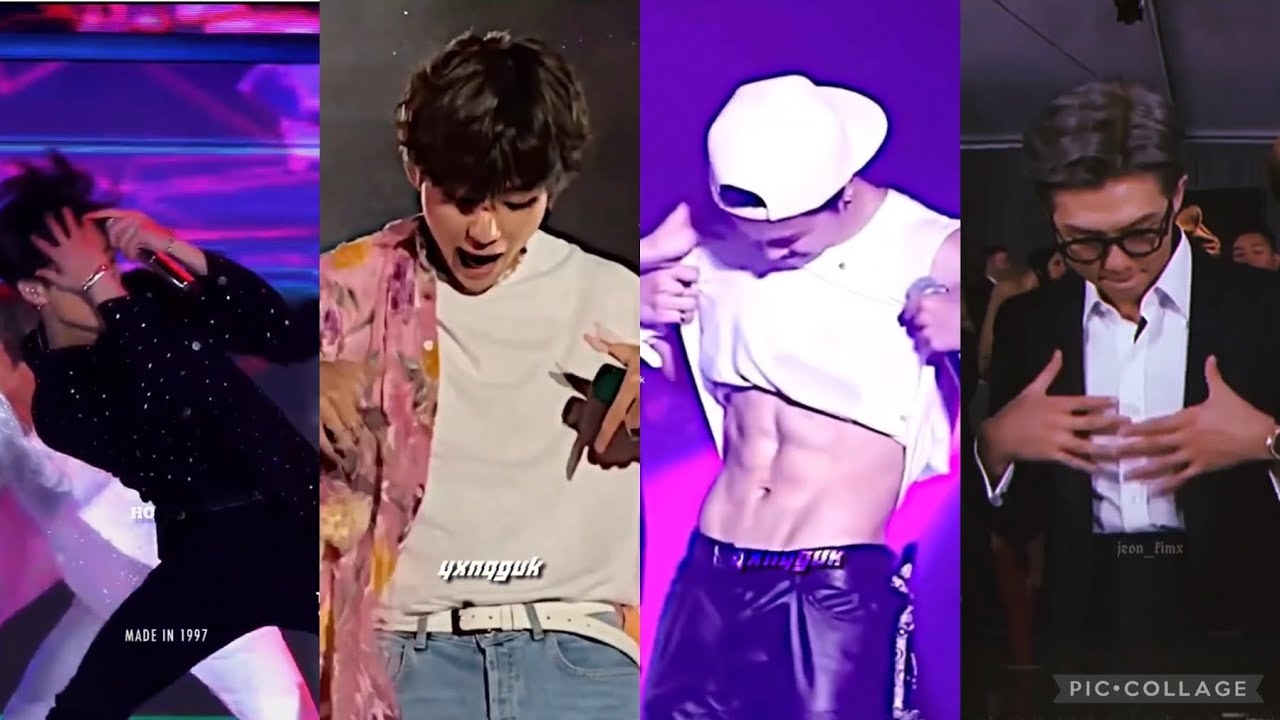 BTS Perfect Body with a Perfect Smile TikTok Compilation