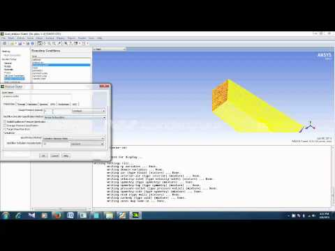 Drag and Lift calculations over a car using ANSYS Fluent 5