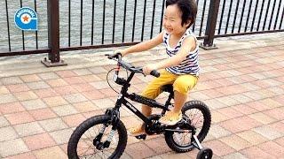 ドッペルギャンガーの子供用自転車に乗りました【がっちゃん5歳】DX16-BK thumbnail