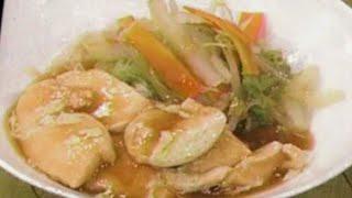 鶏ムネ肉と野菜のたっぷりうま煮