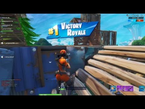 Fortnite Team Rumble but we turn off aim-assist - YouTube