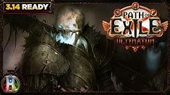 Path of Exile 3.10 - Summon Skeleton Warrior Build - Necromancer Witch - Delirium PoE 2020