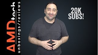 20K Subscribers:  Channel Update & CES 2018