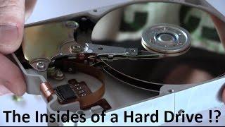 What's Inside a Hard Drive ? (Teardown / Taken apart) - Ec-Projects