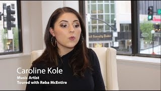 Reba McEntire's Mentee- Exclusive with Caroline Kole