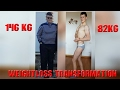 INCREDIBLE BODY TRANSFORMATION/WEIGHT LOSS MOTIVATION-60Kg IN 6 MONTH|146kg to 82kg|BODYBUILDING