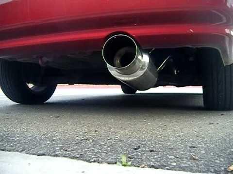 1997 Honda Civic exhaust - YouTube