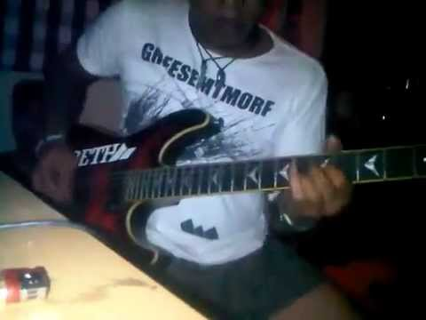 Abaow guitar solo - BUNDA (additional player kotak band)