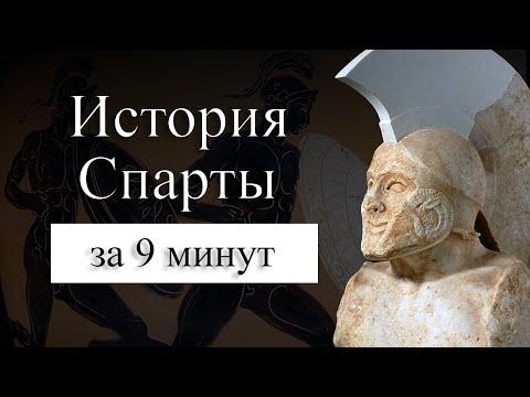 ИСТОРИЯ СПАРТЫ НА КАРТЕ : Где находилась Древняя Спарта? Как жили спартанцы?