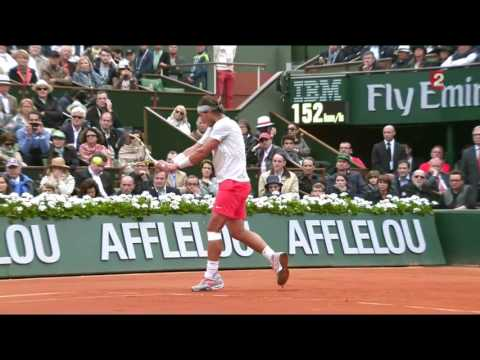 Rafael Nadal vs David Ferrer Roland Garros 2013 Final