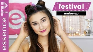 GLITTERALARM!! festival make up deutsch NUR MIT DROGERIE PRODUKTEN