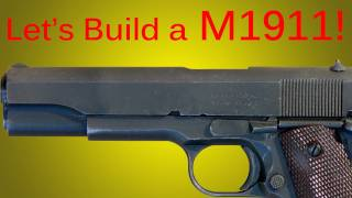 How to Make a Cardboard Colt M1911 Pistol and Attachment Silencer