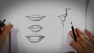 How to Draw Lips | Drawing Tips